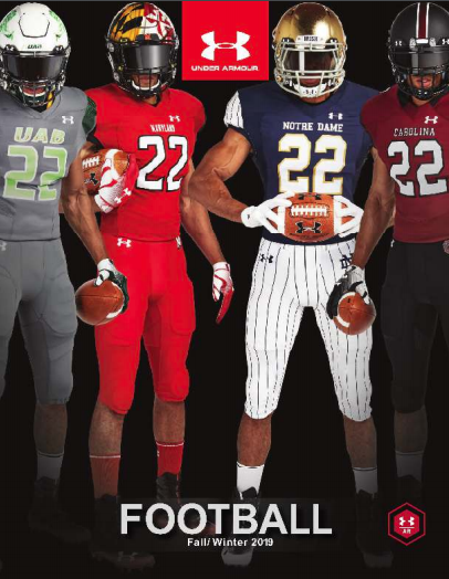 Under Armour Fall/Winter 19 Football